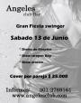 GRAN FIESTA SWINGER JUNIO 13. ESPECTACULAR CLUB-BAR