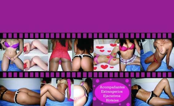 Muñecas en el paraiso tropical del sexo, ardientes y sensuales diablillas